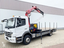 Camião estrado / caixa aberta Mercedes Atego 1218 4x2 Atego 1218 4x2 mit Kran HMF 910-K4