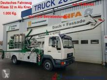 Grue mobile occasion MAN 8.113 Klaas Montage Dachdecker Kran 32m 1000 kg.