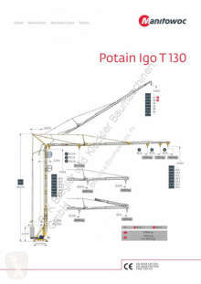 Potain toronydaru IGO T 130