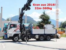 camion MAN TGS 41.480 8x8 BB TGS 41.480 8x8 BB mit Kran Hiab X-HiPro 638 + Jip, Seilwinde, Funk, 32m-360kg