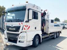 MAN TGX 26.470 6x2-4 BL TGX 26.470 6x2-4BL, Kran Fassi F345RB.2.24, Funk, Seilwinde, Lift-/Lenkachse truck used flatbed