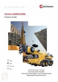 Grúa Grove GMK4100L GMK 4100L grúa móvil usada