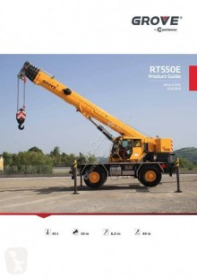 Grove RT 550E grue mobile occasion