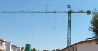 Simma self-erecting crane GT 114