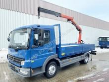 Camion Mercedes 818 /4x2 Ateog 818 Palfinger Heck Kran 6001, 5,30 m - 960 kg cassone usato