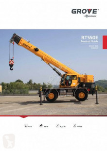 Grove RT 550 grue mobile occasion