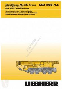 Liebherr LTM 100-4.2 használt mozgódaru