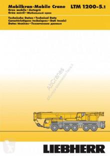 Liebherr LTM 1200-5.1 used mobile crane