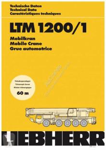 Liebherr LTM 1200-5.1 használt mozgódaru