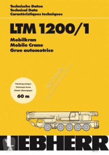 Liebherr LTM 1200.1 használt mozgódaru