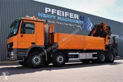 Kamión valník Palfinger PK85002 Mercedes Actros V8 4150, 8x4x4 Drive, 80t/