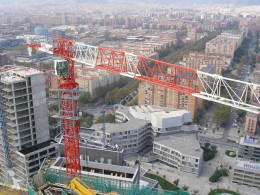 Saez TLS 65 - 8T used tower crane