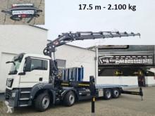 Kamión MAN TGS 35.420/8x2-6 BL TGS 35.420/8x2-6 BL, Kran Hiab 548 E-7, 17,50 m - 2.100 kg, Funk valník nové