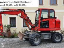 Excavadora excavadora de ruedas Terex TW70 Mobilbagger PREISREDUZIERT