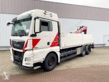 Kamión MAN TGX 26.480 6x4 BL TGX 26.480 6x4 BL mit Heckkran Fassi F195AS, Hochsitz valník ojazdený
