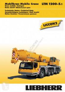 Liebherr LTM 1200-5.1 autojeřáb použitý