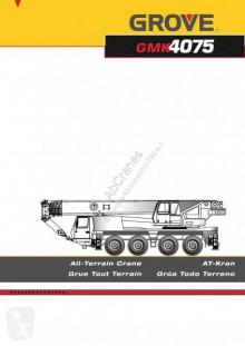 Grove GMK4075 автокран б/у