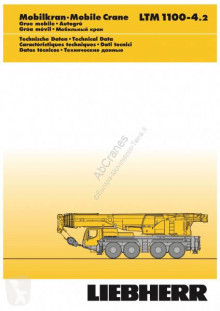 Liebherr LTM 1100-4.2 tweedehands mobiele kraan