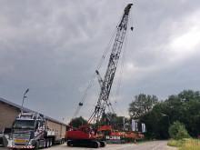 Kobelco 7035 (28 meter boom) grue sur chenilles occasion
