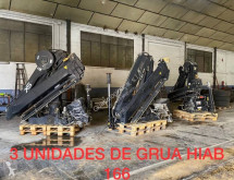 Hiab 166XS-HIDUO VARIOS MODELOS grue auxiliaire occasion