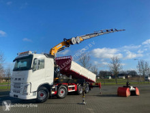 Camião Volvo FH540 8X2 EFFER 395-8S KIPPER CRANE KRAN *DEMO* estrado / caixa aberta usado