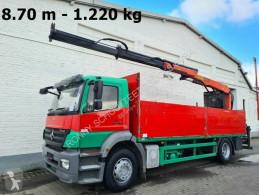 Camion plateau Mercedes Axor 1833L 4x2 Axor 1833L, mit Kran Palfinger PK 12001 L