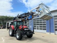 Alt tractor Case Maxxum 125 Trakor Kran + Arbeitskorb + Bohrgerat