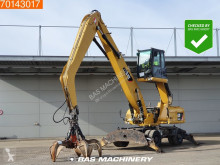 Caterpillar M322D MH WITH GRAPPLE - MATERIAL HANDLER materialhåndteringsmaskine brugt
