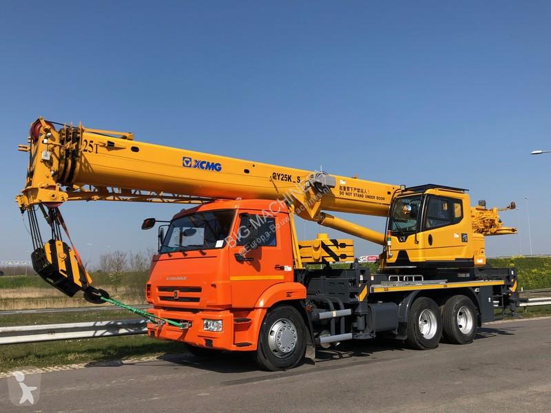 Vedeţi fotografiile Automacara Kamaz 65115 / 2018 XCMG QY25K-S 25 Ton Crane Truck NEW / UNUSED