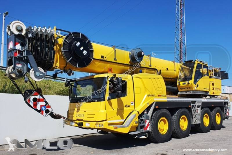 Vedeţi fotografiile Automacara Grove GMK4100L 2nd winch - excellent condition