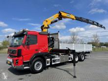 Volvo plató teherautó FMX 410 6X2 EURO 5 CRANE EFFER 255/6S