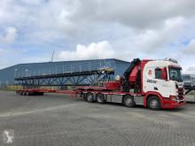 Scania plató teherautó kraanwagens R650