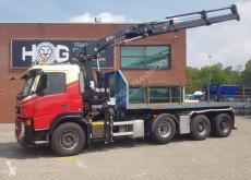 Caminhões Volvo FM 440 HIAB 211EP-3 HIDUO - 30TON NCH estrado / caixa aberta usado