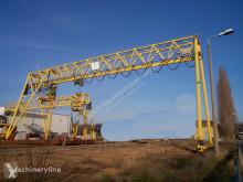 Gantry crane 28m span used port crane