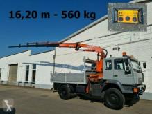Camion plateau MAN 18.284 4x4 BB 18.284 4x4 BB mit Kran Atlas AK 140.1, Funk, Einzelbereifung