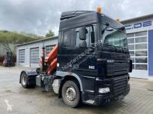 Cabeza tractora DAF XF105 XF105.480 4x2 Euro 5 Kran Palfinger 16001 Funk