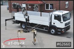 Camion MAN TGM TGM 18.280, HIAB 122-3 Kran, Pritsche plateau ridelles occasion
