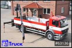 Camión caja abierta teleros Mercedes 1829L, Hiab Kran, FUNK, Remote, Luft/Luft
