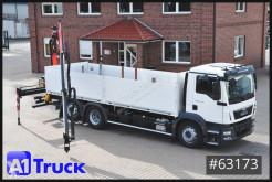 Camión MAN TGM TGM 26.340, Palfinger, ACC, Navi Lift- u. Lenkachse caja abierta teleros usado