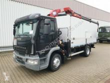 Plató teherautó EuroCargo Ml160E30 4x2 EuroCargo Ml160E30 4x2 mit Kran HMF 683