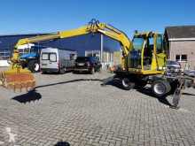 Excavadora excavadora de ruedas Lanz 3000