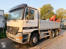 Ciężarówka Mercedes Actros 2635 K 6x4 Actros 2635 K 6x4 mit Heckkran Fassi F160.24 platforma używana