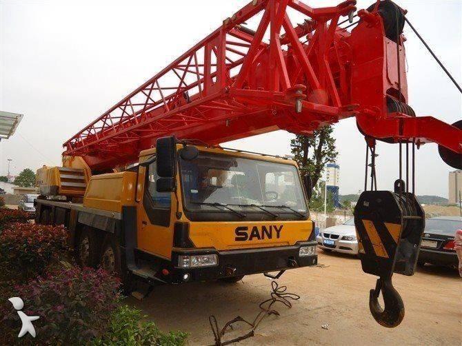 Voir les photos Grue Sany QY50C