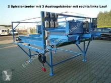 Euro-Jabelmann Doppelter Spiralwalzenenterder mit Austragebänder, NEU