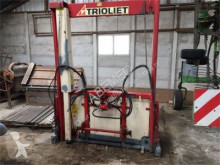 stroj na odchov zvierat Trioliet TU 170 kuilsnijder