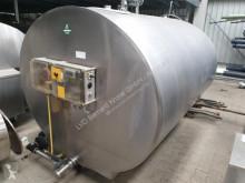 Material de criação DTC ca. 4000l Tanque de leite usado