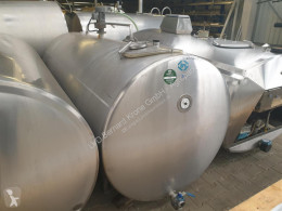 DRU ca. 2500l Цистерна за мляко втора употреба