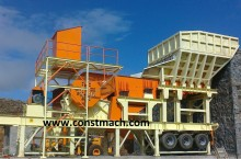 Constmach粉碎机、回收机 PRIMARY JAW CRUSHER – 500 tph CAPACITY - 130 x 100 cm OPENING SIZE