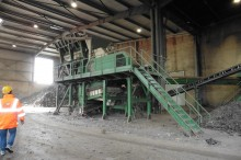 Metso Minerals 1213 used crusher