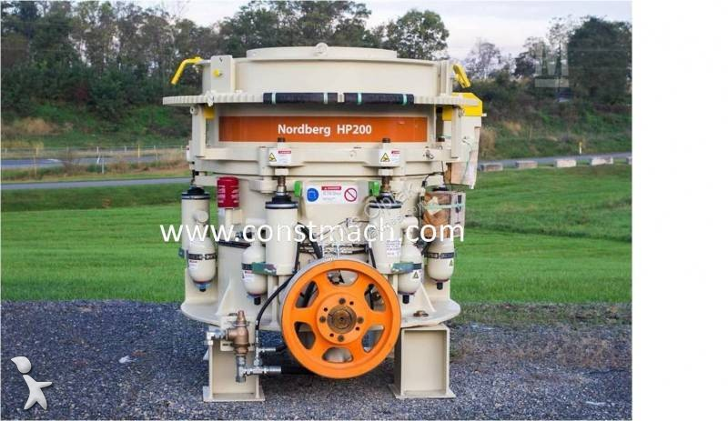 View images Metso Minerals HP200 HP 200 CONE CRUSHER, BRAND NEW crushing, recycling